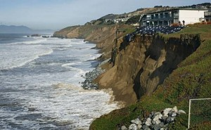 Erosion affects property values